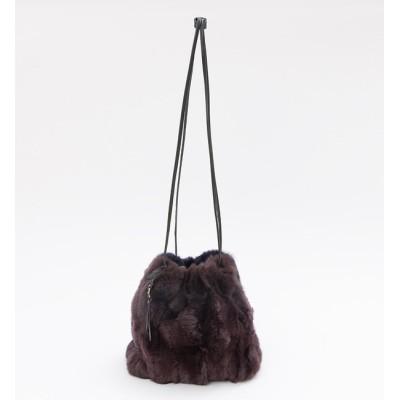 【ロウェル シングス/LOWELL Things】 レッキスファー巾着バッグ