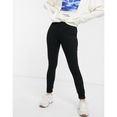ジェイディーワイ レディース デニムパンツ ボトムス JDY Ella high waisted skinny jeans