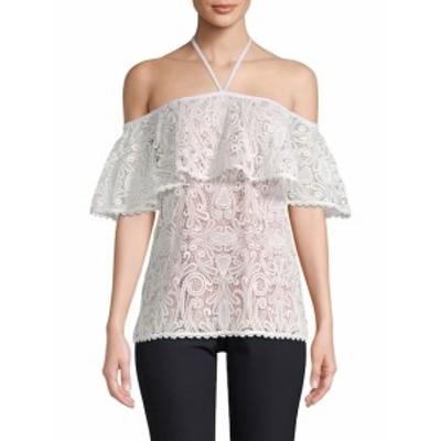 アレクシス レディース トップス シャツ Isa Floral Lace Off-Shoulder Top