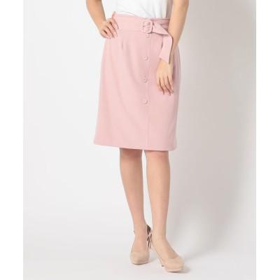 【ミッシュマッシュ】 リバーシブルレースタイトスカート レディース ピンク M MISCH MASCH