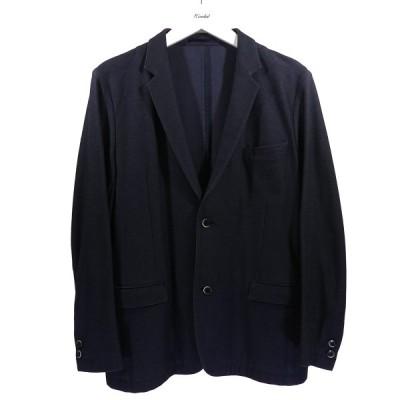 【11月30日値下】SOLIDO コットンジャージ テーラードジャケット ネイビー サイズ:04 (和歌山店)