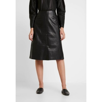 キャリン ウェスター スカート レディース ボトムス SKIRT MELINDA - A-line skirt - black