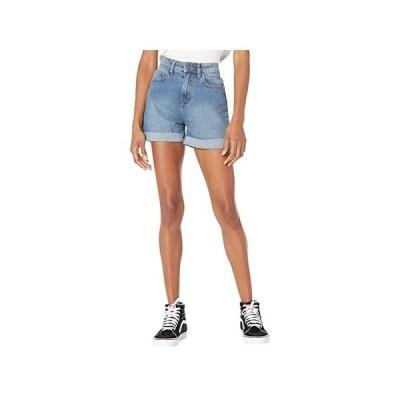 バンズ High-Rise Roll Cuff Shorts レディース ショートパンツ ズボン 半ズボン Ocean Wash