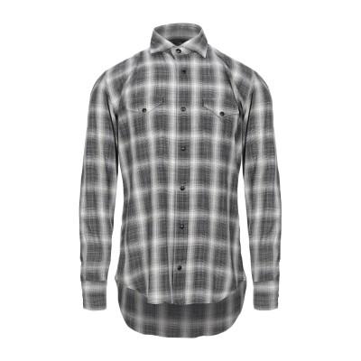 イレブンティ ELEVENTY シャツ ブラック 40 コットン 100% シャツ