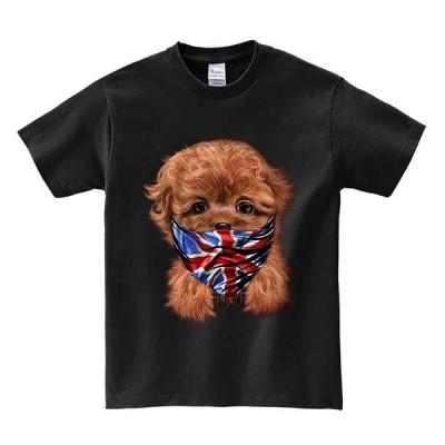 【イングリッシュ ブルドッグ ドッグ 犬 いぬ ラッパー ヒップホップ】メンズ 半袖 Tシャツ by Fox Republic