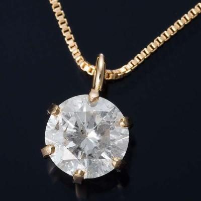 K18 0.3ct ダイヤモンド ペンダント ネックレス ベネチアンチェーン メーカー直送 ※沖縄・離島への配送不可