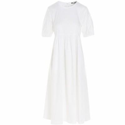 MAX MARA/マックス マーラ White Fato' dress レディース 春夏2021 9221201260010156068 ju