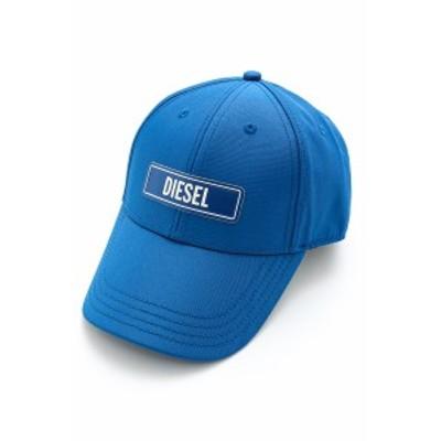ディーゼル DIESEL キャップ ベースボールキャップ 帽子 C-7ELE CAPPELLO ブルー (00SI7R 0CAXJ)