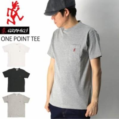 GRAMICCI(グラミチ) ワンポイント ポケット Tシャツ カットソー メンズ レディース