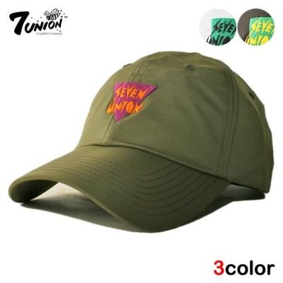 セブンユニオン 7UNION ストラップバックキャップ 帽子 メンズ レディース wt bk ol