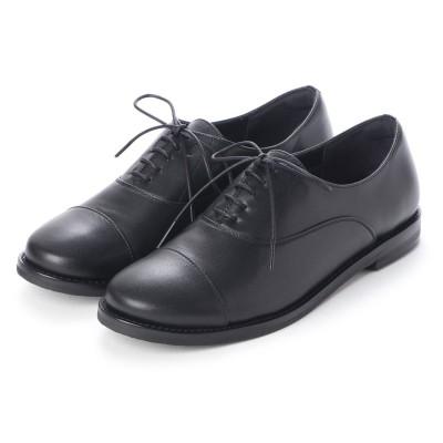 クートゥーフォロワーシューズ KuToo Follower Shoes ジェンダーフリー内羽根レースアップシューズ (ブラック)