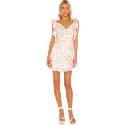 トゥラロサ Tularosa レディース ワンピース ワンピース・ドレス Harper Bias Dress Spring Pink Floral
