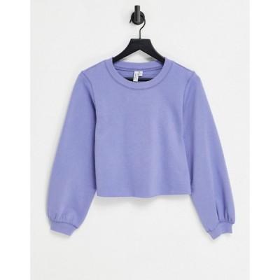 アンドアザーストーリーズ & Other Stories レディース スウェット・トレーナー トップス Organic Cotton Co-Ord Sweatshirt In Blue ブルー