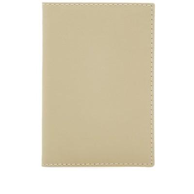 コムデギャルソン Comme des Garcons Wallet メンズ 財布 comme des garcons sa6400 classic wallet White