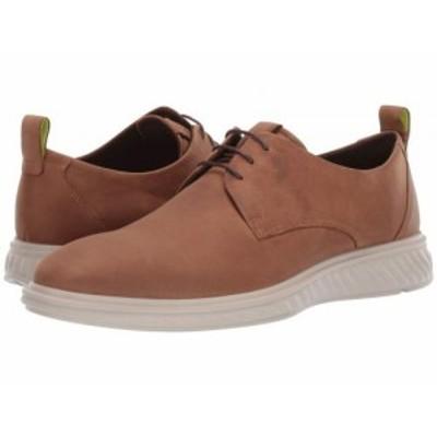 ECCO エコー メンズ 男性用 シューズ 靴 オックスフォード 紳士靴 通勤靴 ST.1 Hybrid Lite Plain Toe Camel【送料無料】