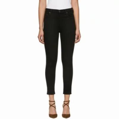 シチズン ジーンズ・デニム Black Rocket Crop High-Rise Skinny Jeans