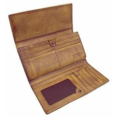 財布 レディース レザー ハンドメイド 財布 レディース カードホルダー US サイズ: 7.48L x 3.94W カラー: ブラウン