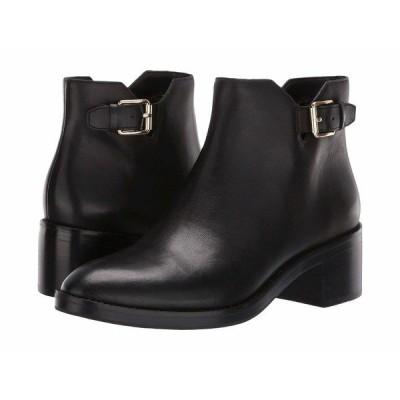 コールハーン ブーツ&レインブーツ シューズ レディース Harrington Grand Buckle Bootie Black Leather/Black Stack