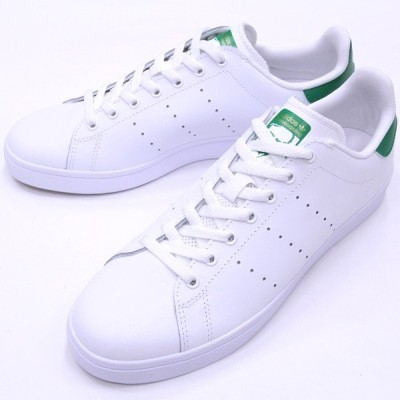 "【25.5cm/7.5"" シューズ スケートボード アディダス】Adidas Stan Smith Vulc White/White/Green"