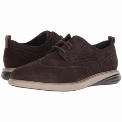 コールハーン 革靴・ビジネスシューズ Grand Evolution Shortwing Dark Taupe Leather/Cobblestone/Dark Roast