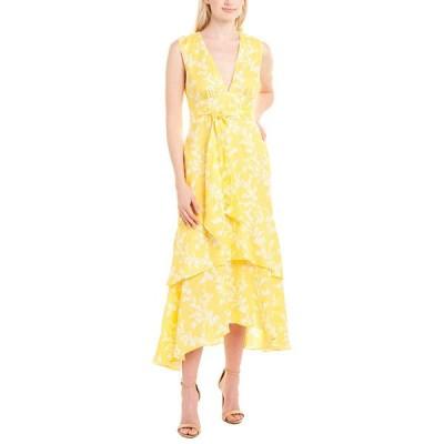 キープセイク ワンピース トップス レディース Keepsake Fallen Linen Midi Dress golden floral