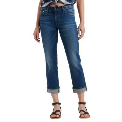 ラッキーブランド レディース デニムパンツ ボトムス Mid-Rise Sweet Straight Ankle Jeans in Finja