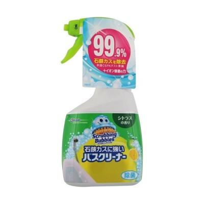 [ジョンソン]スクラビングバブル 石鹸カスに強いバスクリーナー シトラスの香り 本体 400ml
