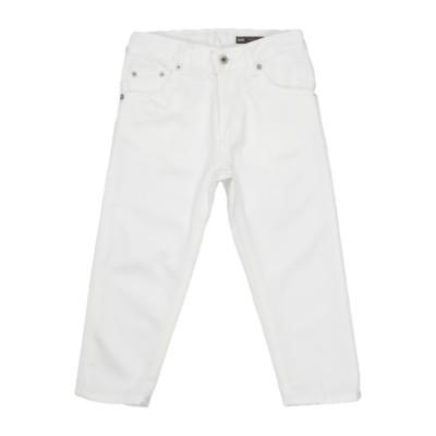 ドンダップ DONDUP パンツ ホワイト 8 コットン 100% パンツ