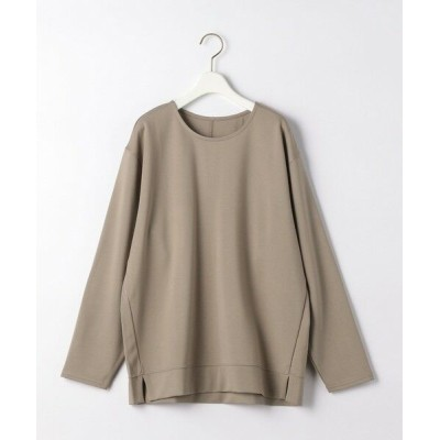 THE STATION STORE UNITED ARROWS LTD./ザ ステーション ストア ユナイテッドアローズ <closet story>CSC ポンチ スリット カットソー BEIGE FREE