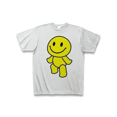 幸せ来い、恋!えがおくん Tシャツ(アッシュ)
