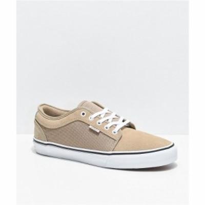 ヴァンズ VANS メンズ スケートボード シューズ・靴 chukka low incense and white skate shoes Beige/khaki