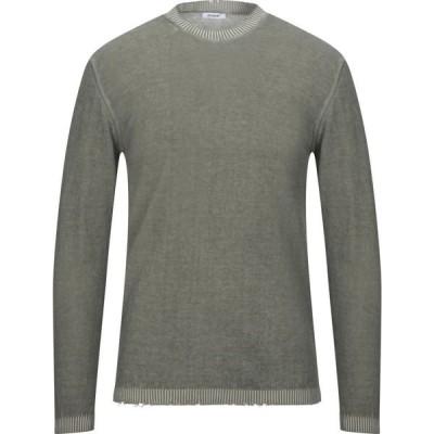 オフィチーナ トレンタ セイ OFFICINA 36 メンズ ニット・セーター トップス Sweater Military green