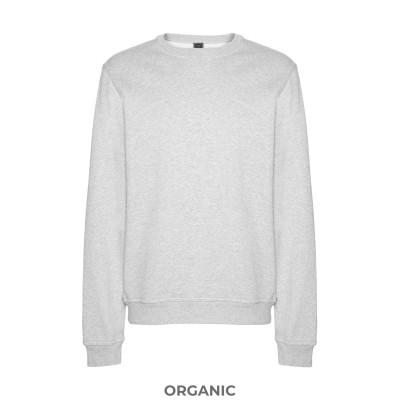 8 by YOOX スウェットシャツ グレー L オーガニックコットン 100% スウェットシャツ