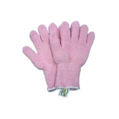 送料無料(メール便発送) ウルトラマイクロファイバー手袋(ピンク) KE701抜群の洗浄力赤ちゃんの沐浴に使っても安心デス