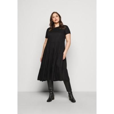 オンリー カルマコマ ワンピース レディース トップス CARFABULOUS DRESS  - Day dress - black