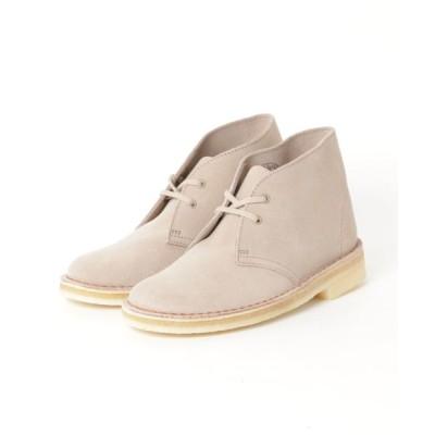 atmos pink / Clarks DESERT BOOT (SAND SUEDE) WOMEN シューズ > ブーツ