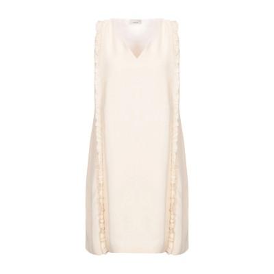 ピンコ PINKO ミニワンピース&ドレス ベージュ 46 レーヨン 100% ミニワンピース&ドレス