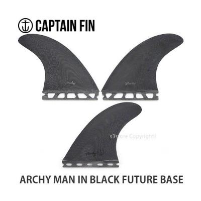 キャプテン フィン アーチ CAPTAIN FIN ARCHY MAN IN BLACK FUTURE BASE サーフィン トライ ショート SURF カラー:Black サイズ:M
