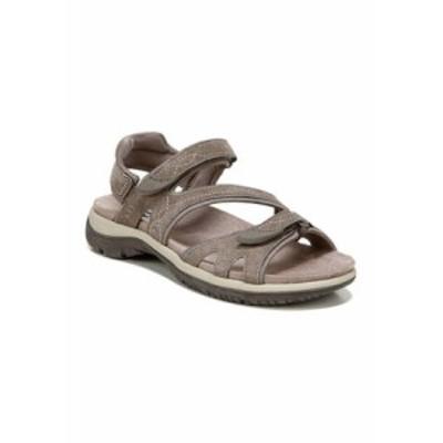 ドクター・ショール レディース サンダル シューズ Adelle Ankle Strap Sandals - Taupe Taupe