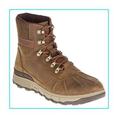 Caterpillar STICTION HI ICE+W Waterproof Men's Insulated Brown Leather Boot【並行輸入品】