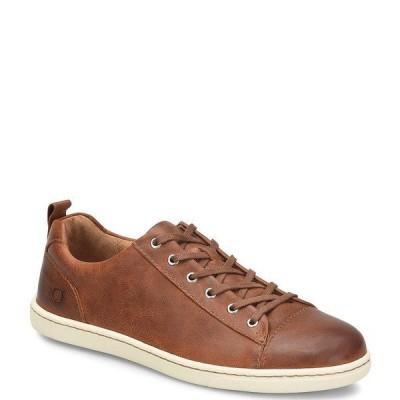 ボーン メンズ スニーカー シューズ Men's Allegheny Leather Lace-Up Sneakers Tan