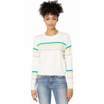 ビービーダコタ BB Dakota レディース ニット・セーター トップス Multi Stripe Sweater Ivory