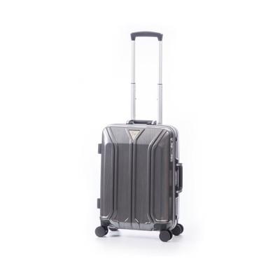 【カバンのセレクション】 アジアラゲージ スーツケース 機内持ち込み Sサイズ ストッパー フレーム イケかる 軽量 ALI−1031−18S 35L ユニセックス ガンメタリック フリー Bag&Luggage SELECTION