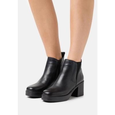 レディース 靴 シューズ NAIARA - Platform ankle boots - black