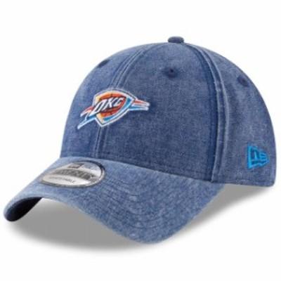 New Era ニュー エラ スポーツ用品  New Era Oklahoma City Thunder Womens Blue Always Team Fan 9TWENTY Adjustable Hat