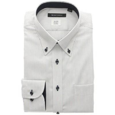 【COOL MAX】ボタンダウンカラードレスシャツ ドビーストライプ 〔EC・BASIC〕