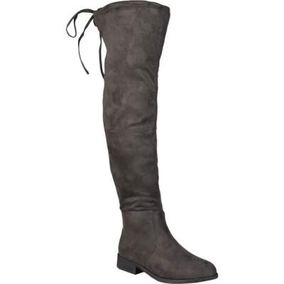 ジュルネ コレクション Journee Collection レディース ブーツ シューズ・靴 Mount Boot Grey