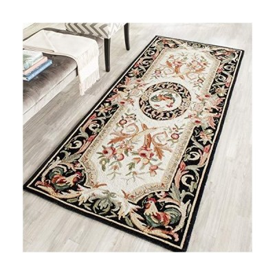 Safavieh Chelsea Collection HK48K HandHooked French Country Wool Runner 3'