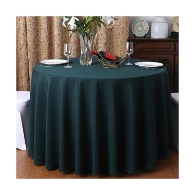 テーブルクロス ラウンド 無地 円形 グリーン R2.2 自然 テーブルカバー 洗える 食卓カバー ブルー 直径140cm 丸
