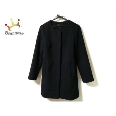 エムズセレクト m's select コート サイズ36 S レディース - 黒 長袖/冬   スペシャル特価 20210106